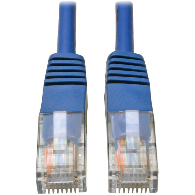 Tripp Lite 30ft Cat5e / Cat5 350MHz Molded Patch Cable RJ45 M/M Blue 30'