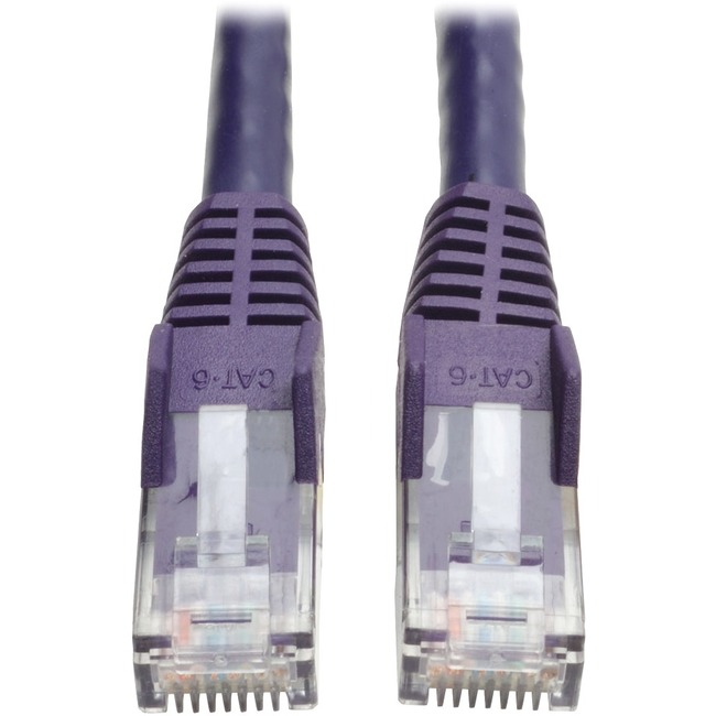 10FT CAT6 GIG SNAGLSS CBL RJ45 M/M PRP