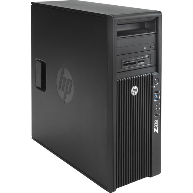 HP Z220 Convertible Mini-tower Workstation - 1 x Processors Supported - 1 x Intel Xeon E3-1245V2 Quad-core (4 Core) 3.40