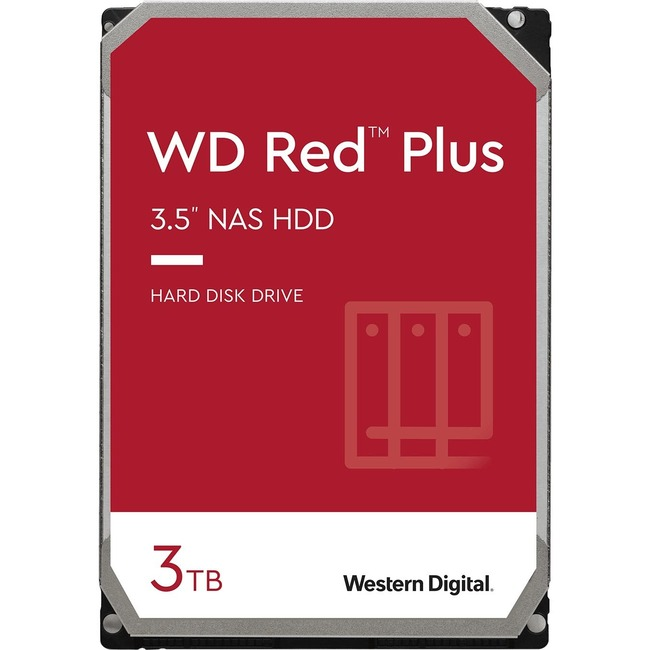 Western Digital Red WD30EFRX Hard Drive, 3TB, 5400 rpm, SATA/600, (for NAS)