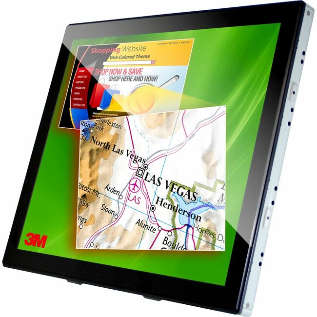 "3M C1910PS 19"" CCFL LCD Touchscreen Monitor - 5:4 - 5 ms"
