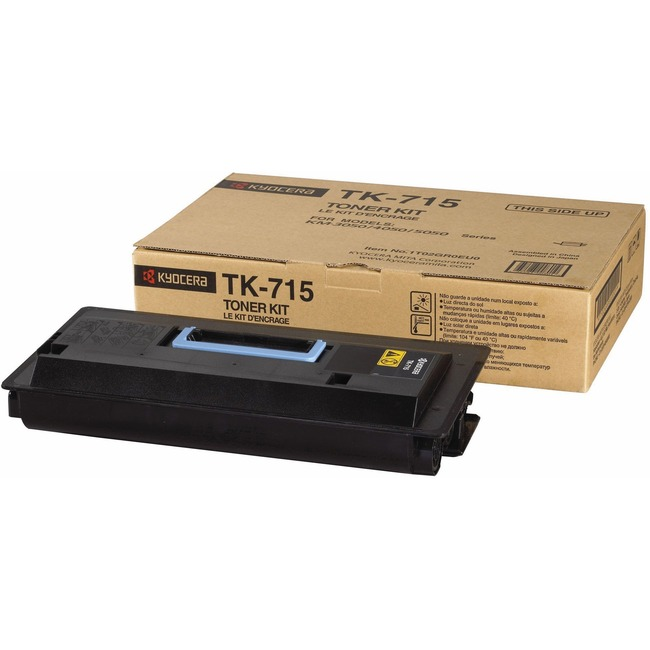 Kyocera TK-715 Toner Cartridge - Black