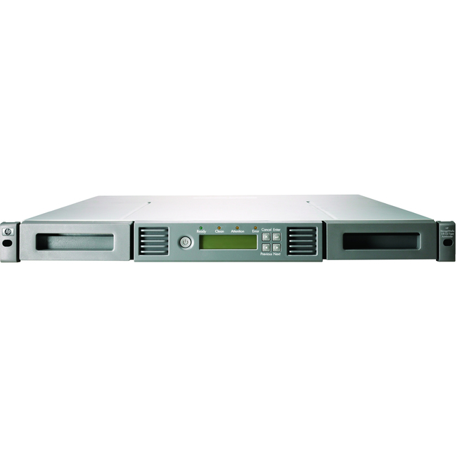 HP 1/8 G2 LTO-5 Ultrium 3000 Fibre Channel Tape Autoloader