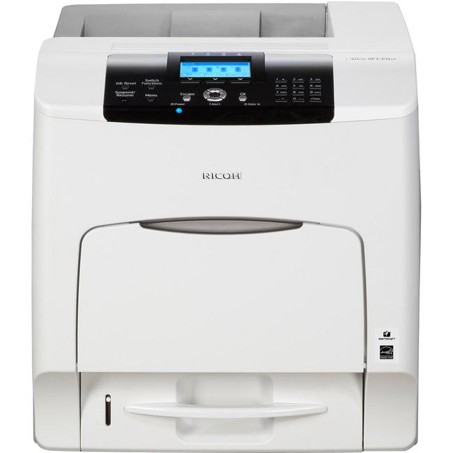 Ricoh Aficio SP C431DNHW Laser Printer - Color - 1200 x 1200 dpi Print - Plain Paper Print - Desktop