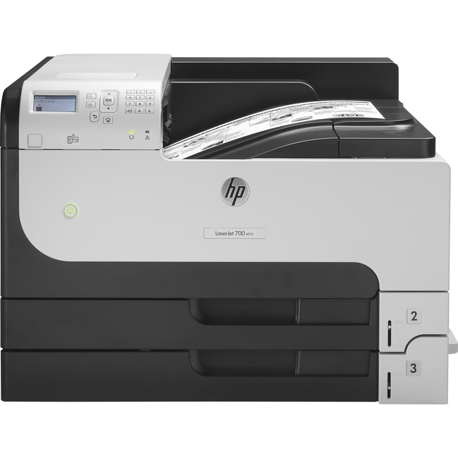 HP LaserJet 700 M712N Laser Printer - Monochrome - 1200 x 1200 dpi Print - Plain Paper Print - Desktop