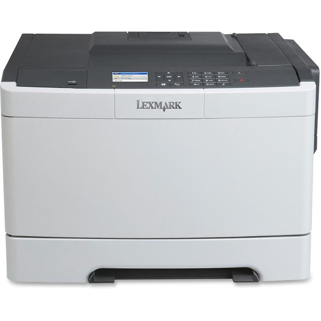 Lexmark CS410N Laser Printer - Color - 2400 x 600 dpi Print - Plain Paper Print - Desktop