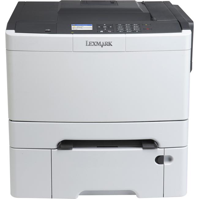 Lexmark CS410DTN Laser Printer - Color - 2400 x 600 dpi Print - Plain Paper Print - Desktop