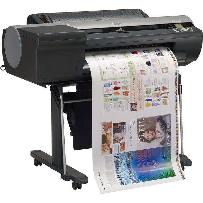 """Canon imagePROGRAF iPF6400 Inkjet Large Format Printer - 24"""" Print Width - Color"""