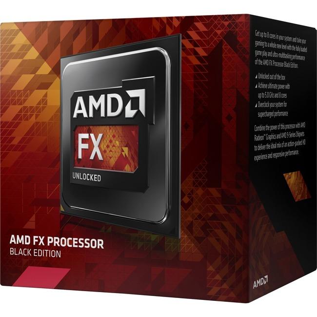 AMD FX FX-8350 Processor FD8350FRHKBOX - Large
