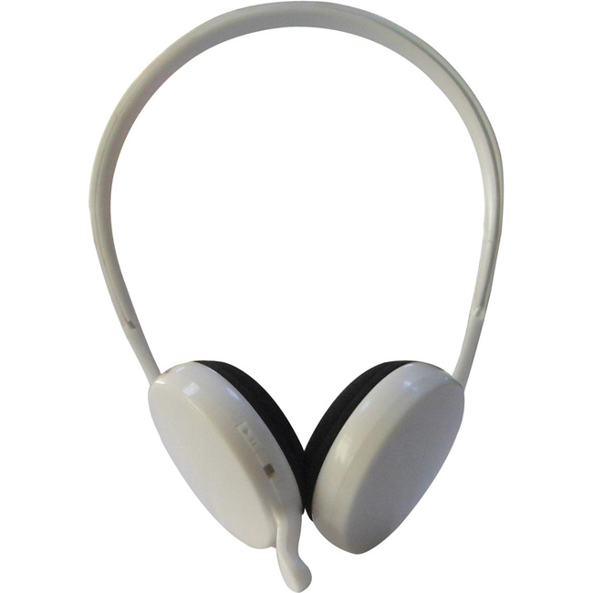 Inland Products Bluetooth Neckband Headset - White