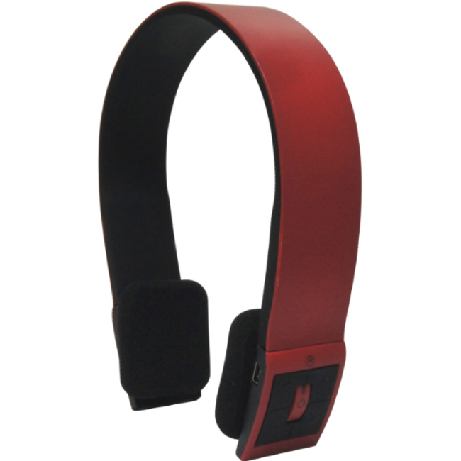 Inland Products Bluetooth Headset - Red