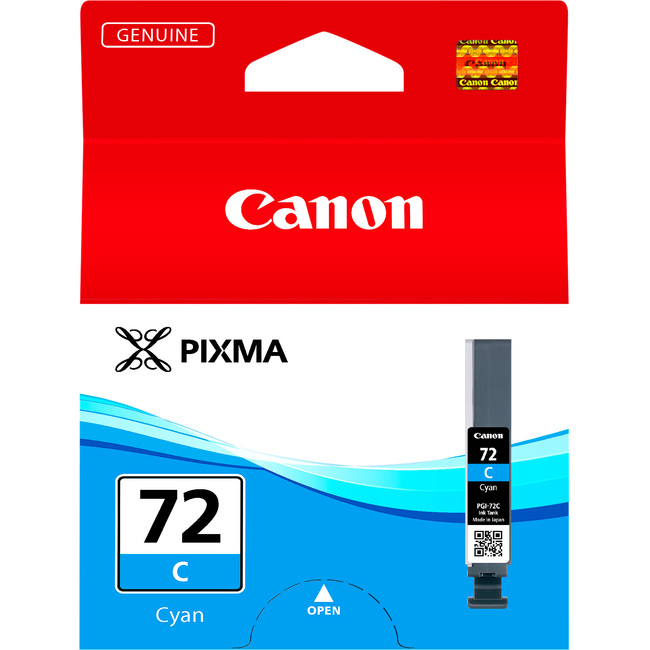Canon LUCIA PGI-72C Ink Cartridge - Cyan