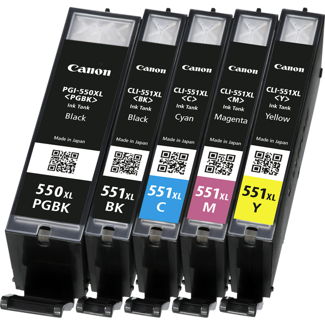 Canon CLI-551BK XL Ink Cartridge - Black