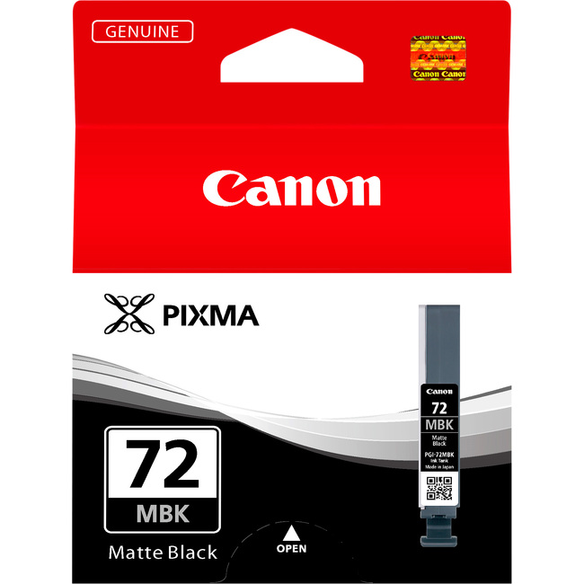 Canon LUCIA PGI-72MBK Ink Cartridge - Matte Black