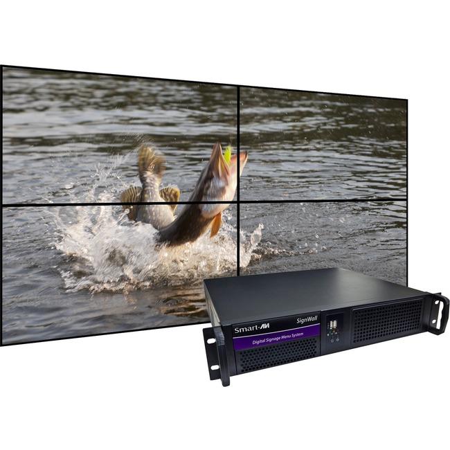 SmartAVI SignWall AP-SVW-120G5S Digital Signage Appliance