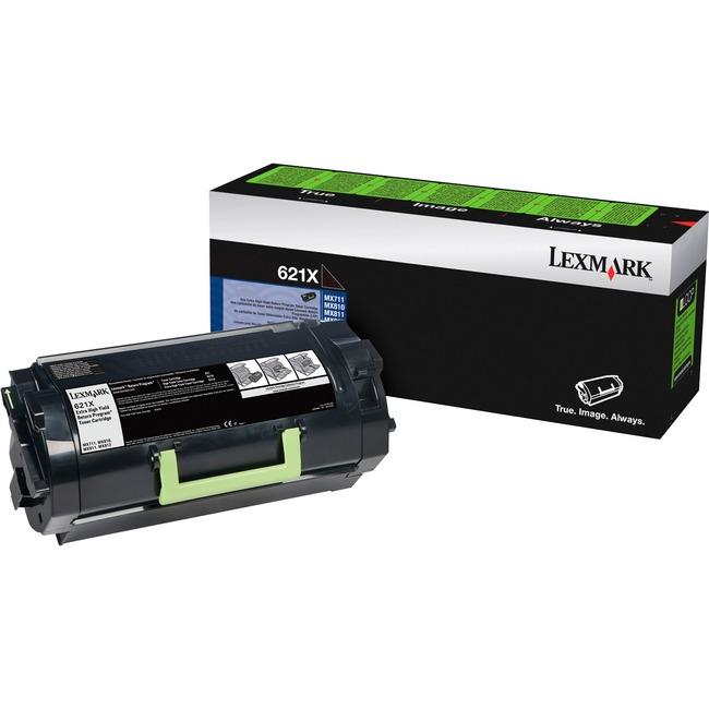 Lexmark 621X Extra High Yield Return Program Toner Cartridge