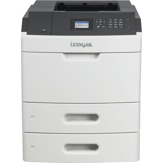 Lexmark MS811DTN Laser Printer - Monochrome - 1200 x 1200 dpi Print - Plain Paper Print - Desktop