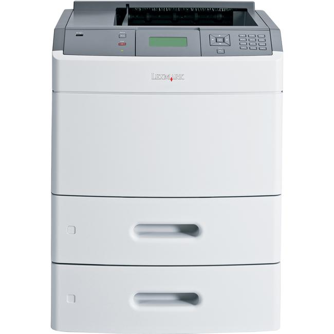 Lexmark T650 T654DTN Laser Printer - Monochrome - 1200 x 1200 dpi Print - Plain Paper Print - Desktop