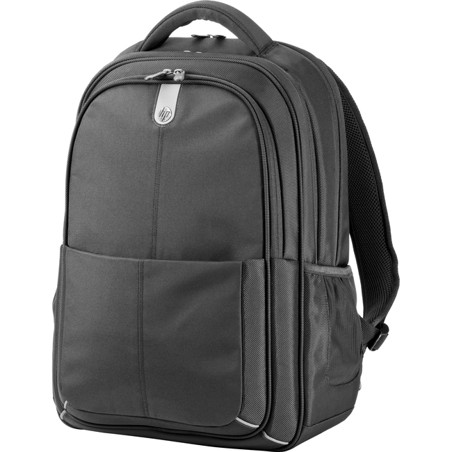 "HP Carrying Case (Backpack) for 15.6"" Notebook, Tablet PC, Document, Accessories - Black"