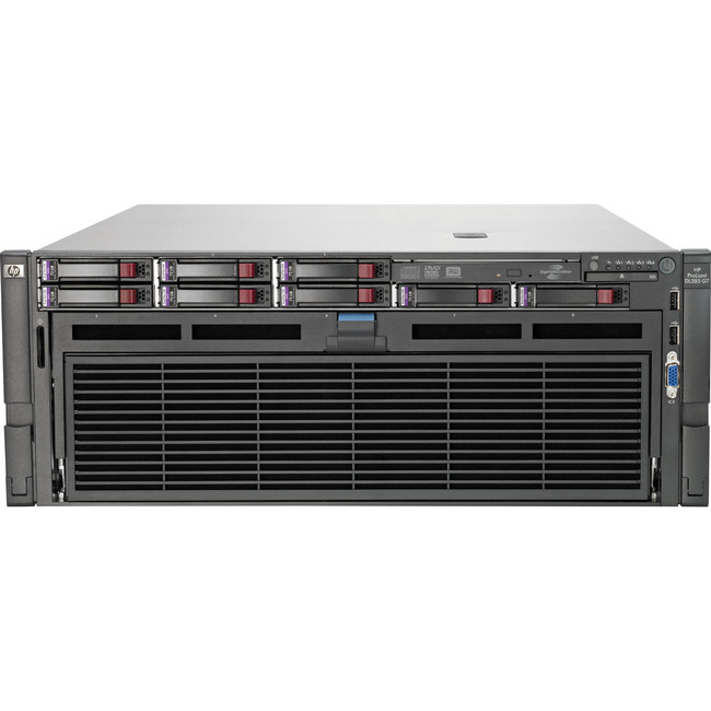 HP ProLiant DL585 G7 4U Rack Server - 2 x AMD Opteron 6344 Dodeca-core (12 Core) 2.60 GHz