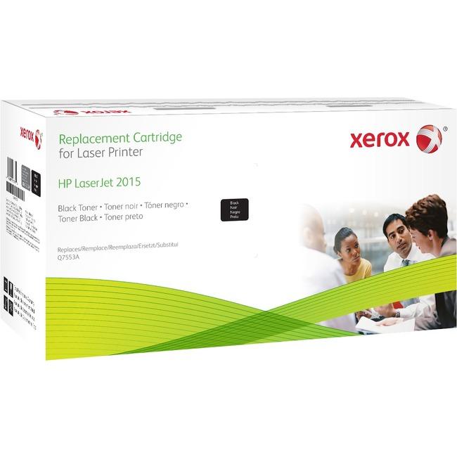 Black,Xerox Cartridges Replace HP Q7553A for LaserJet P2015 Series, M2727,Xerox