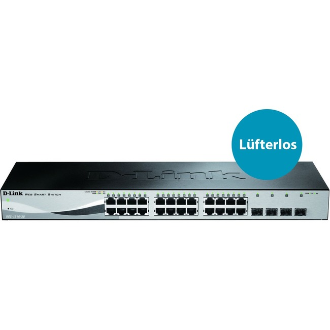 D-Link WebSmart DGS-1210-28 24 Ports Manageable Ethernet Switch