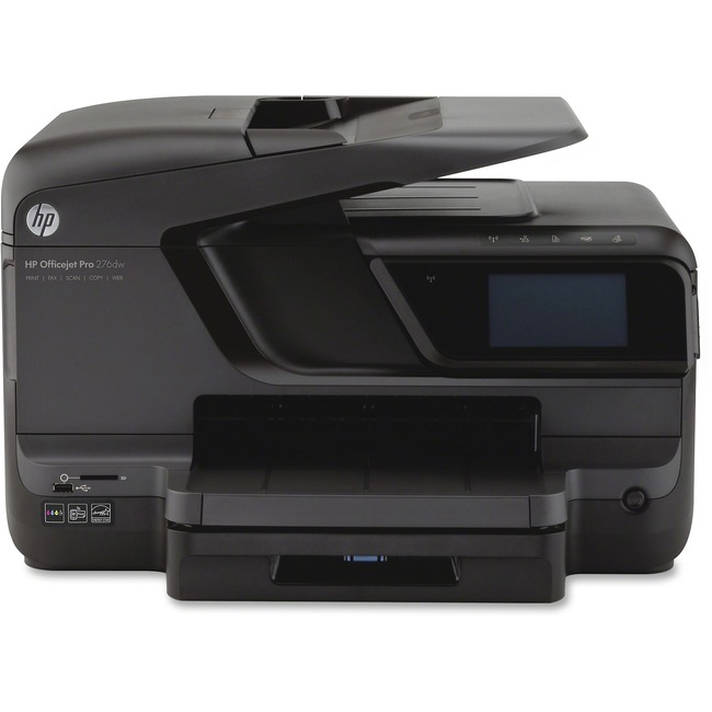 HP Officejet Pro 276DW Inkjet Multifunction Printer - Color - Plain Paper Print - Desktop