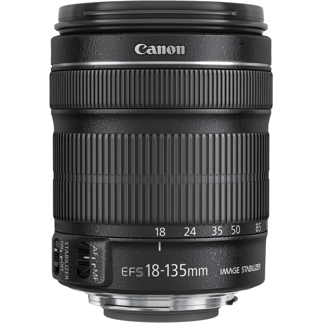 Canon - 18 mm to 135 mm - f/3.5 - 5.6 - Zoom Lens for Canon EF/EF-S