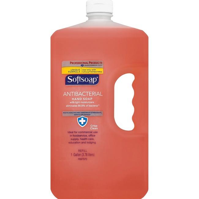 Softsoap Antibacterial Soap 1Gal Refill