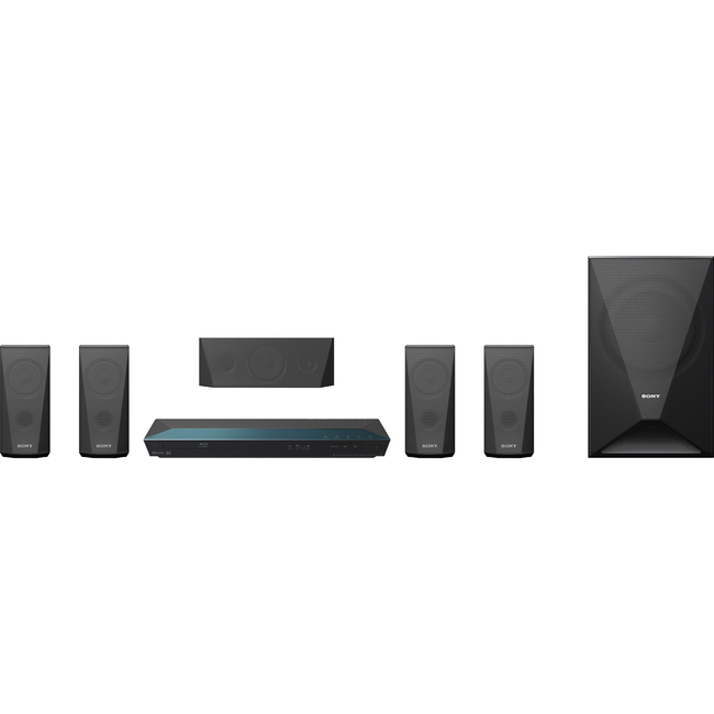 Sony BDV-E3100 5.1 3D Home Theater System - 1000 W RMS - Blu-ray Disc Player