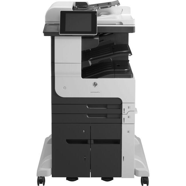 HP LaserJet 700 M725Z+ Laser Multifunction Printer - Monochrome - Plain Paper Print - Floor Standing