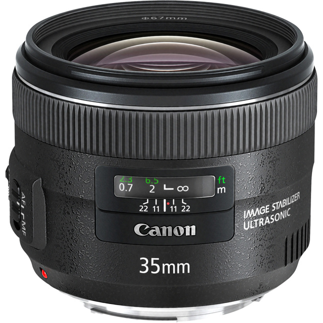 Canon - 35 mm - f/2 - Wide Angle Lens for Canon EF/EF-S