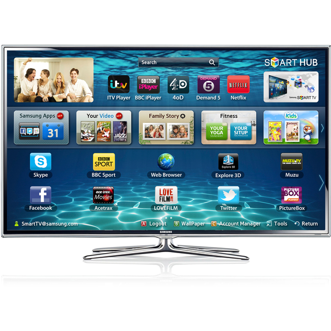 1ac7f0e71b2a40 Manufacturers Product Description. Bring home a smarter television with the  Samsung 55