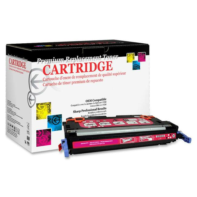 West Point Remanufactured Toner Cartridge - Alternative for HP 502A (Q6473A)