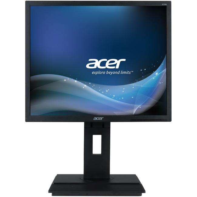 ACER - MONITORS 19IN LED 1280X1024 100M:1 B196L YMDR VGA/DVI BLACK 5MS