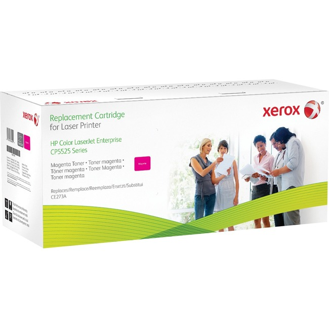 Xerox Toner Cartridge   Replacement for HP (CE273A)   Magenta