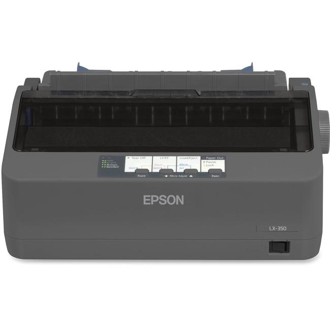 Epson LX-350 Dot Matrix Printer - Monochrome