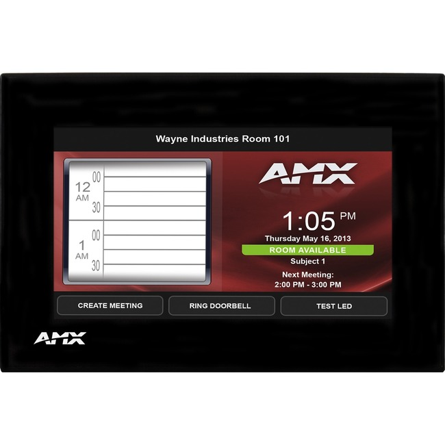 AMX MSD-431-L, Landscape Wall Mount Touch Panel