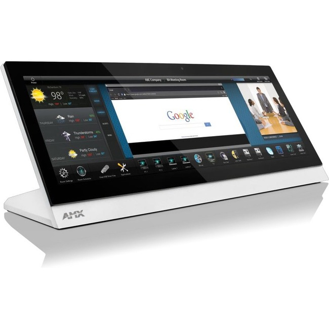 "AMX MXT-1901-PAN 19.4"" Modero X Series G5 Panoramic Tabletop Touch Panel"