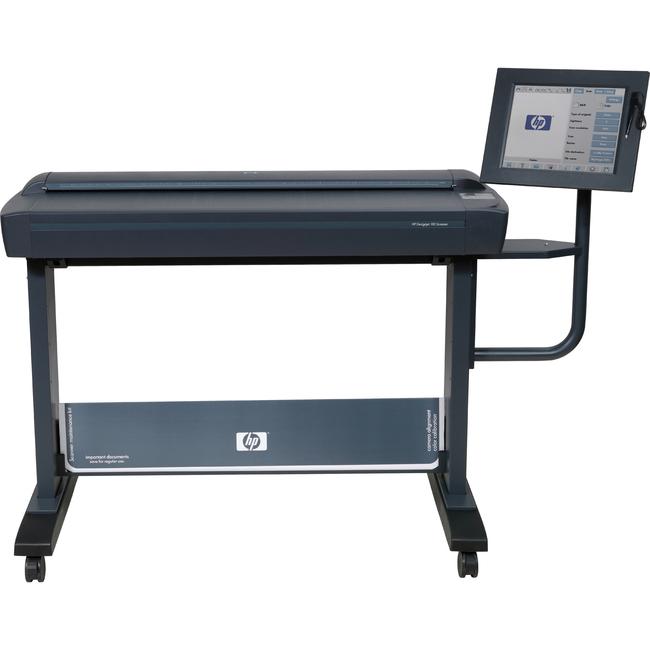 HP Designjet Large Format Sheetfed Scanner - 600 dpi Optical