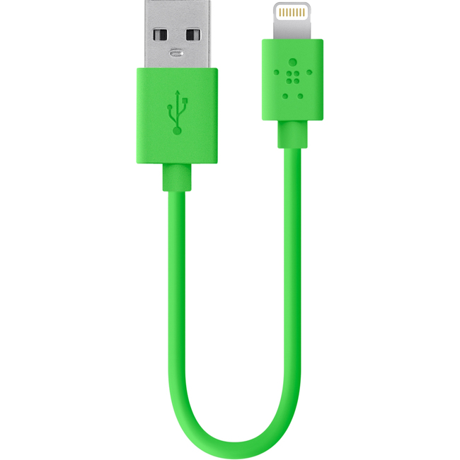 Belkin MIXIT? Lightning/USB Data Transfer Cable for iPad, iPod, iPhone, Notebook - 1.22 m