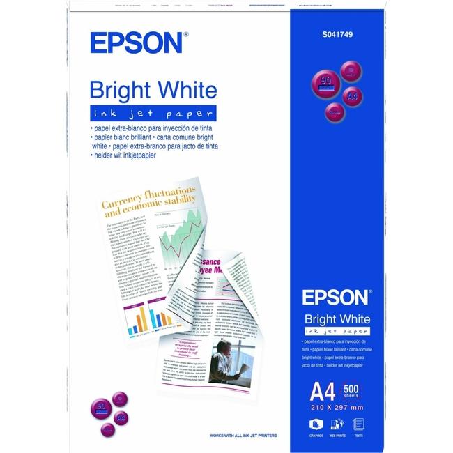 Epson C13S041749 Inkjet Paper - A4 - 210.06 mm x 296.93 mm - White