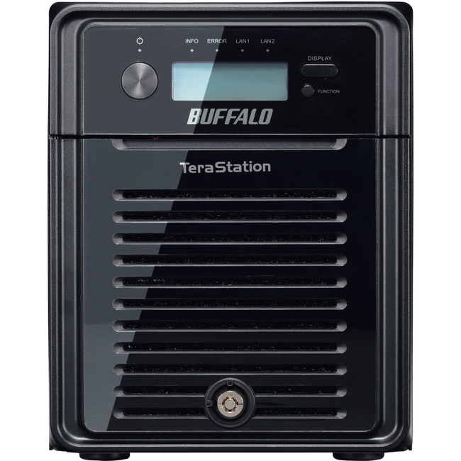 BUFFALO TeraStation 3400 4-Drive 12 TB Desktop NAS for Small Business (TS3400D1204)