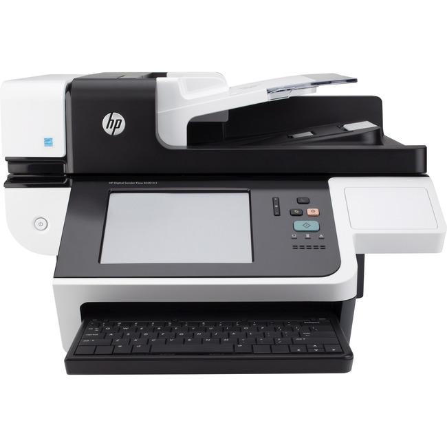 HP Digital Sender Flow 8500 fn1 Document Capture Workstation without FIPS Drive - 600 dpi Optical - 24-bit Grayscale - 6