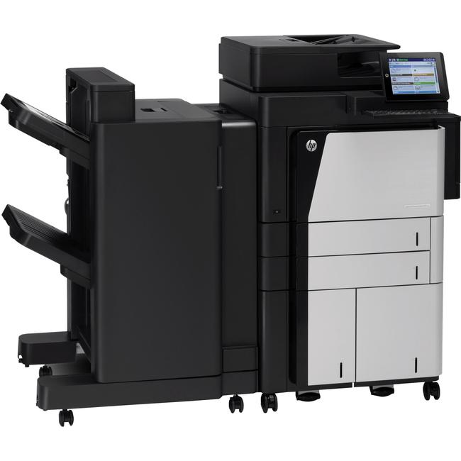 HP LaserJet M830Z Laser Multifunction Printer - Monochrome - Plain Paper Print - Floor Standing