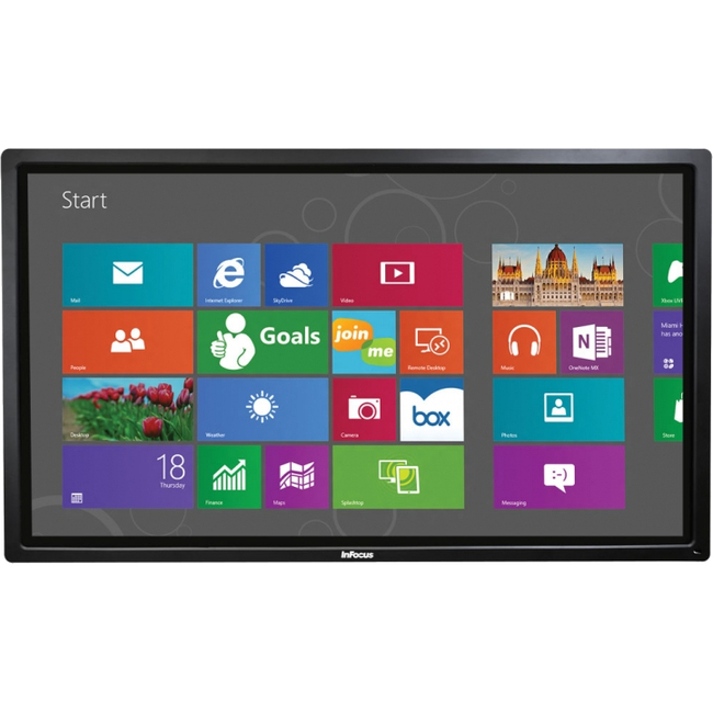 InFocus BigTouch INF7011 All-in-One Computer - Intel Core i5 i5-2520M 2.50 GHz - Desktop - Black