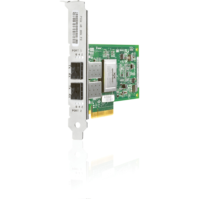 HP 82Q 8Gb 2-port PCIe Fibre Channel Host Bus Adapter