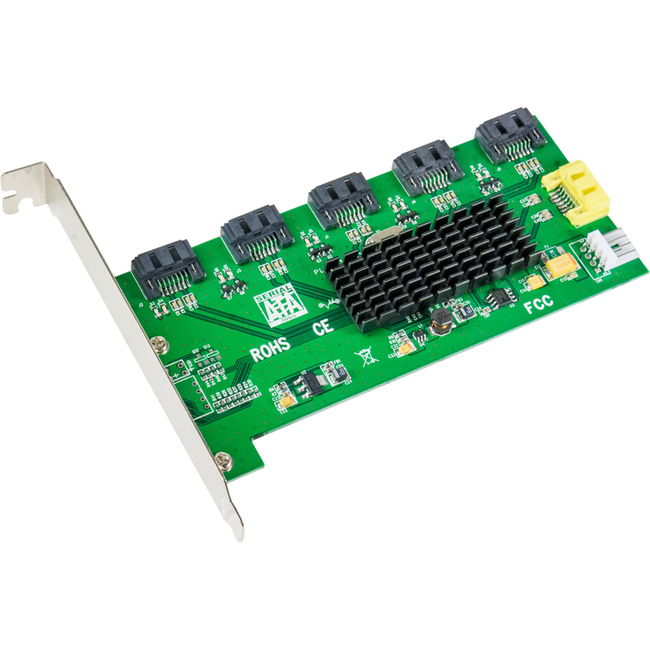 SYBA Multimedia 1:5 (5x1) Internal SATA II Port Multiplier (PM)