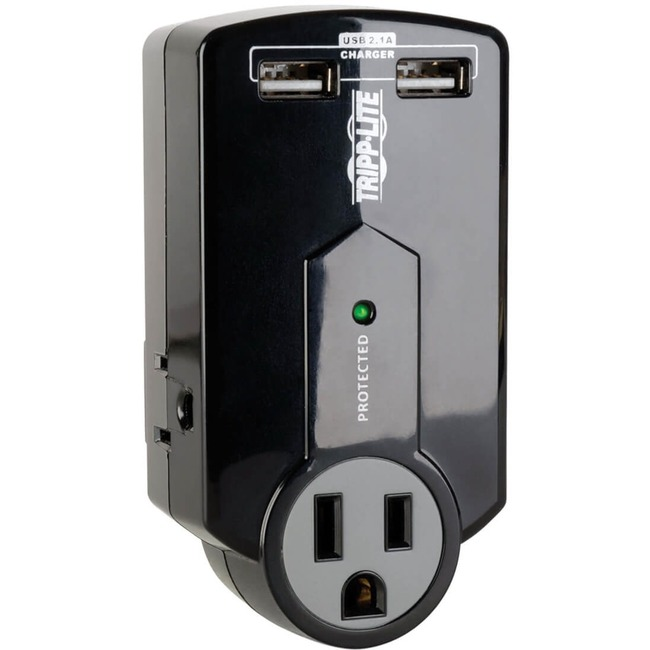 3 Outlet, Direct Plug-In, 540 Joules, 2.1 amp USB charger - Protect It Surge Sup