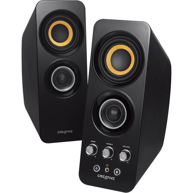 Creative Speakers 51MF1655AA001 Bluetooth Wireless 2.0 Speakers Black Retail